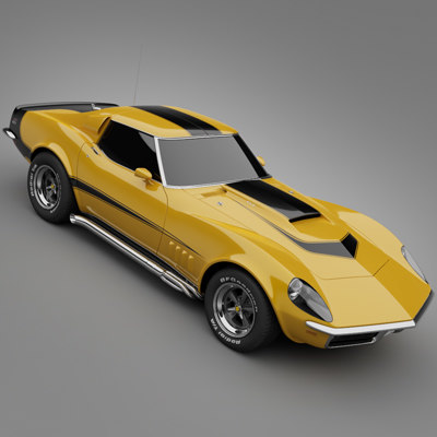 1969 Baldwin-Motion Corvette Phase III GT