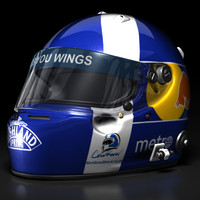 David Coulthard 2008 F1 Helmet