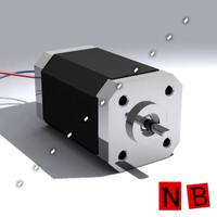 3dsmax dc electric motor