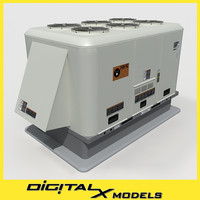 maya rooftop hvac cooler