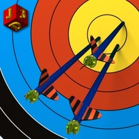 Arrows in the target.