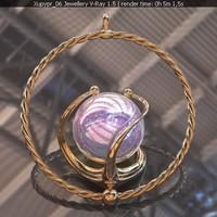 maya stl gold opals