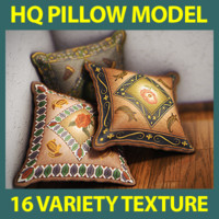 high quality pillow model with 16 variety texture