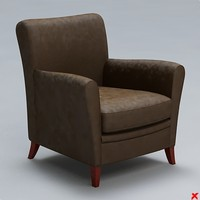 3d armchair chair model