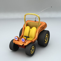 lightwave hanna-barbera speed buggy