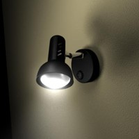 3d household spotlight lights illumination