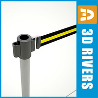 Airport barrier 01 by 3DRivers