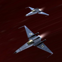 spacefighter ready space 3d 3ds