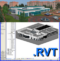 Revit Day Care Centre & max file 01