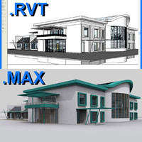 Revit day care centre & max file 02