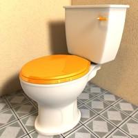 c4d toilet