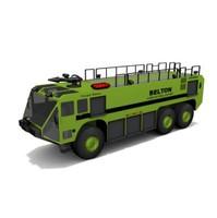 3d airport truck model