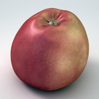apple red 3d model