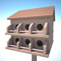 maya bird house