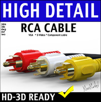 VGA S-Video composite video audio cable