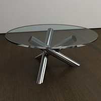 italian designer coffee table 3d 3ds