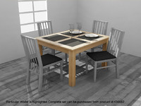 max atlantis dining table set