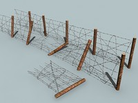 barbed wire set 3