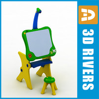 Toy easel by 3DRivers
