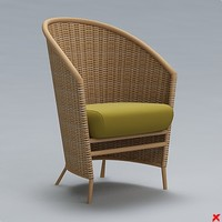 Chair wicker004.ZIP