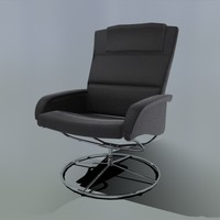 max revolving leather chair