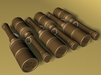 rkg-3 grenades 3d model