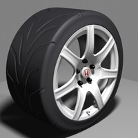Honda NSX Type R Wheel