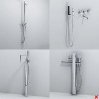 3d faucet tap bathroom