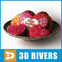 Valentines cookies by 3DRivers
