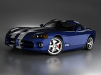 3ds max dodge viper srt 10