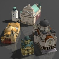 3d building church