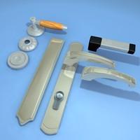3d model handle