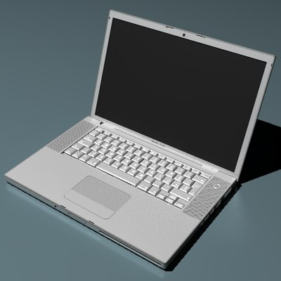 3dsmax apple mac book pro - apple mac book pro... by 3world