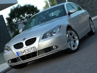 3d sedan luxury model