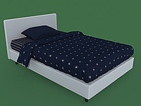 max bed flou notturno