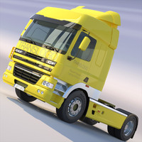 3dsmax daf cf85 tractor spacecab