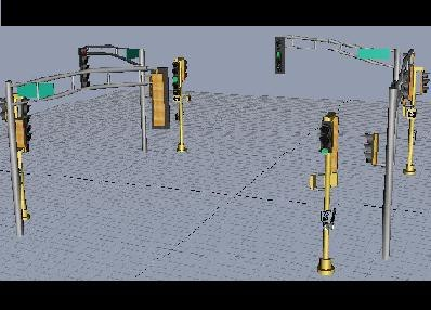 traffic lights illinois traffic wiring diagram and circuit schematic