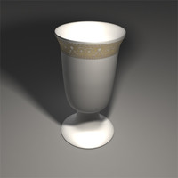 Traditional jewish goblet