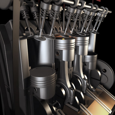 Vacuum Brake Booster in addition Chevrolet Corvette ZR1 Engine likewise Engine Cross Section Diagram also Automatic Transmission Diagram moreover Push Rod Engine Diagram. on pushrod engine animation