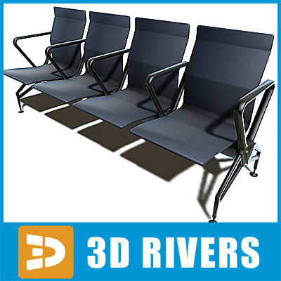 Airport seats 01 by 3DRivers