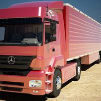 3d trailer axor model