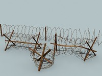 barbed wire set 6