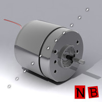 dc electric motor 3ds