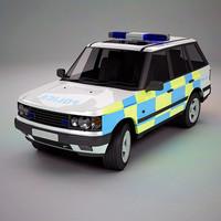 UK Police SUV