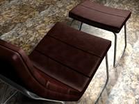 armchair chair 3d c4d