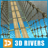 Rope bridge by 3DRivers