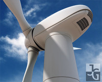 Photorealistic Wind Turbine