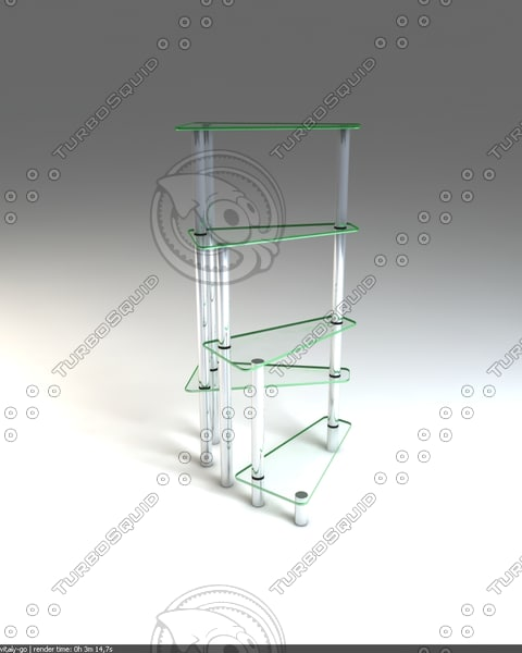 3d stol table - stoliyk_1... by vitalygoon