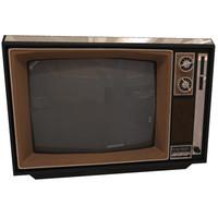 3d model television set