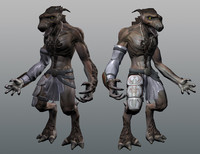 werewolf modeled ma